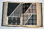 antique book woven wool
